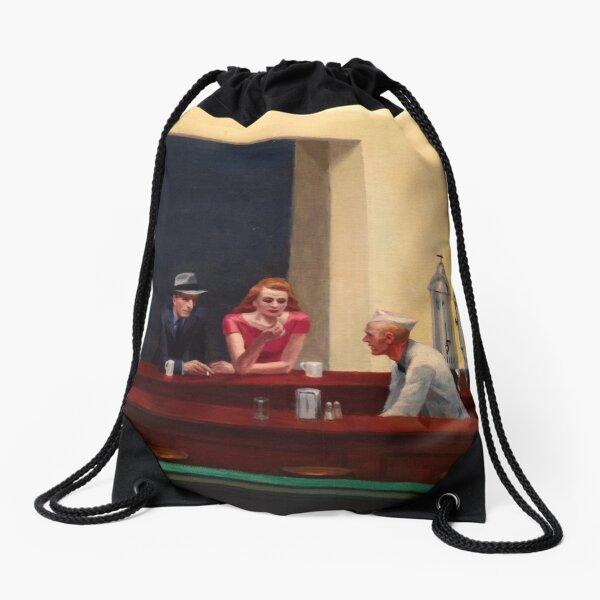 Nighthawks Drawstring Bag