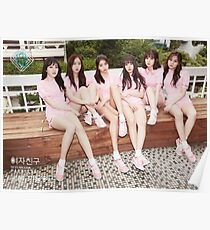 Gfriend (여자친구) Parallel Poster
