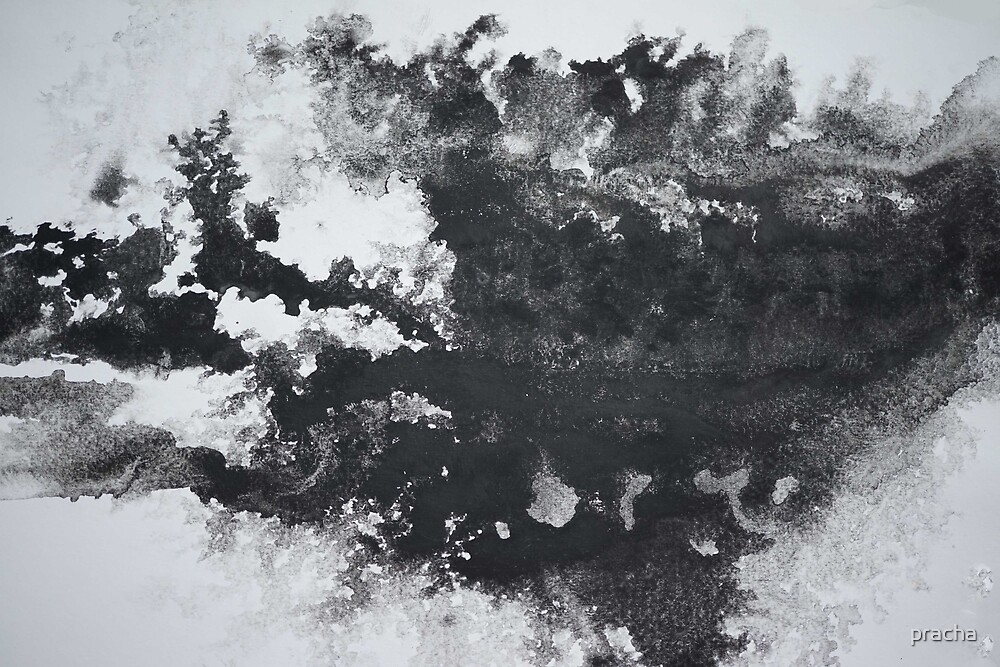 Abstract black 3 by pracha