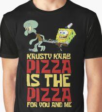 Krusty Krab Pizza - Spongebob Grafik T-Shirt