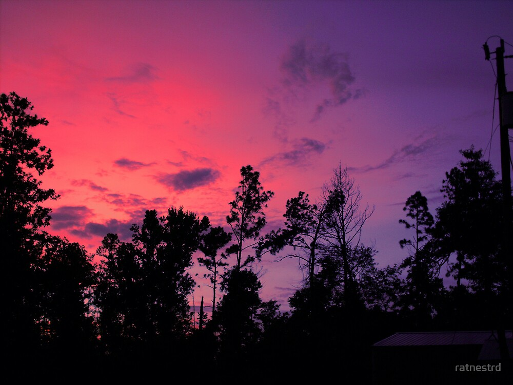 sunset by ratnestrd
