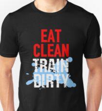 Eat Clean Train Dirty T-Shirt T-Shirt