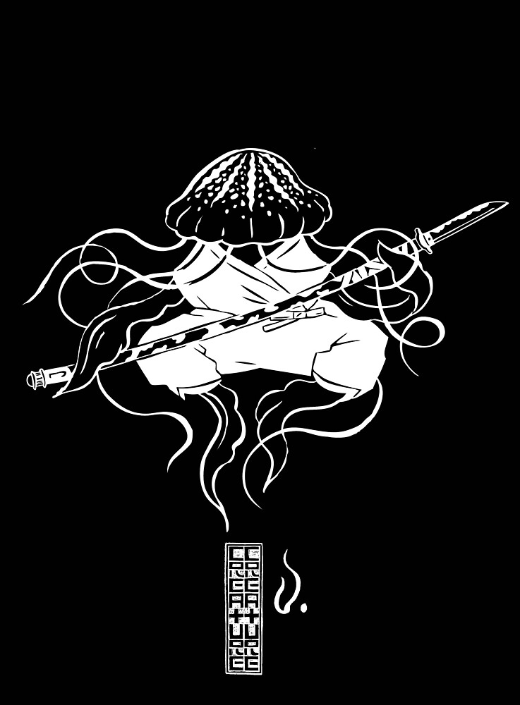 Jellyfish Black by 2xCreature