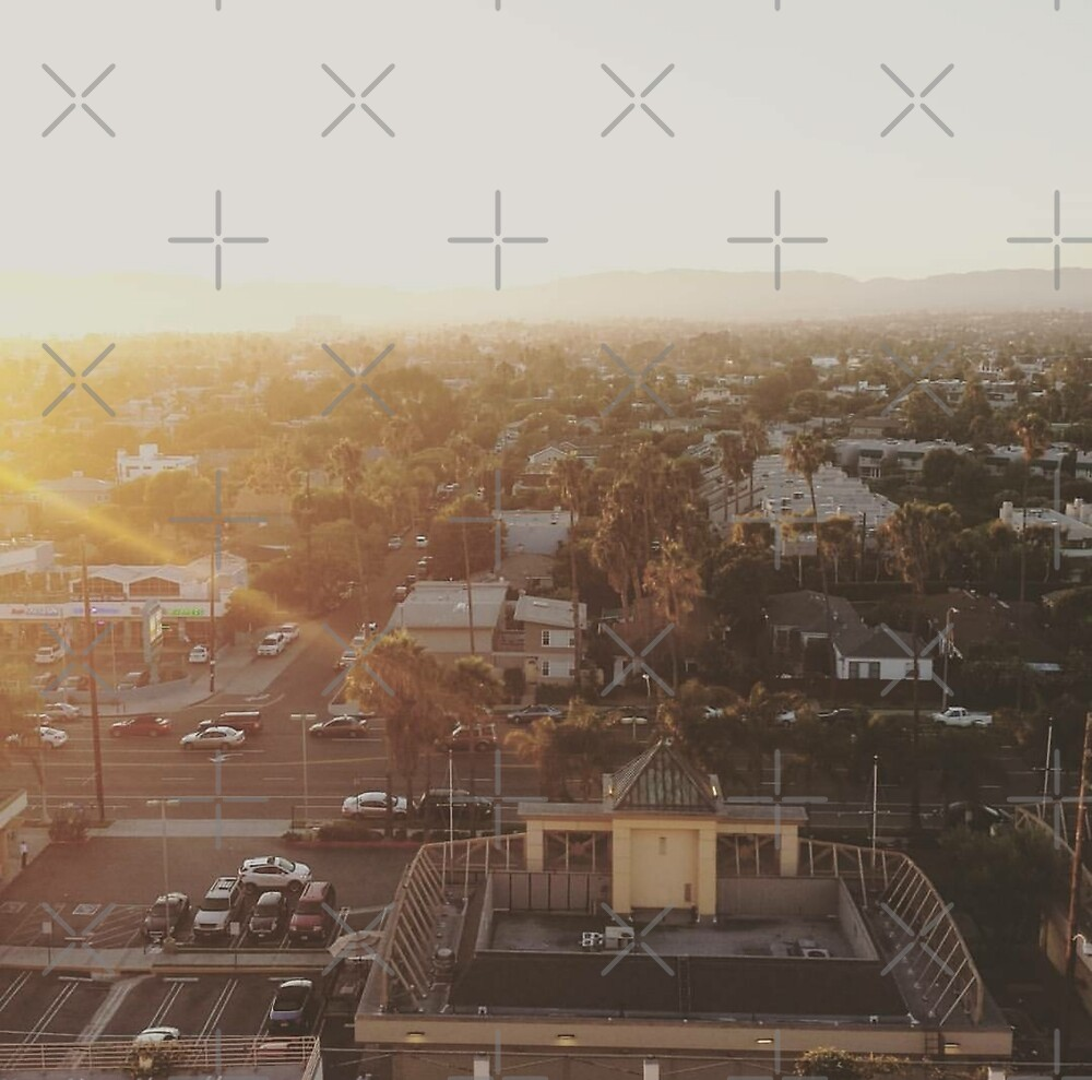 Sunset From A Building by Caylie Duckworth
