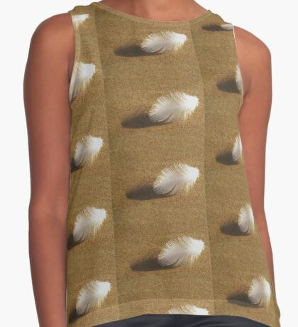 breath of white Contrast Tank
