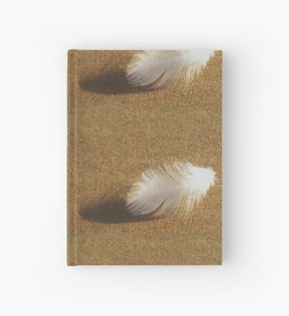 breath of white Hardcover Journal