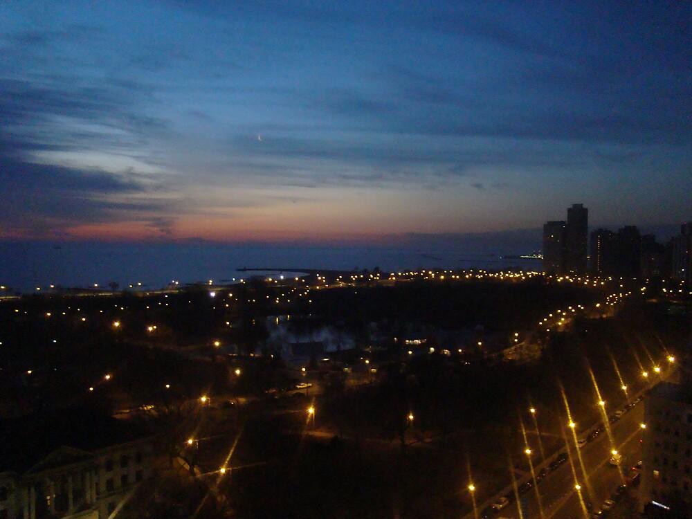 City Evening  by Jennifer Darrow