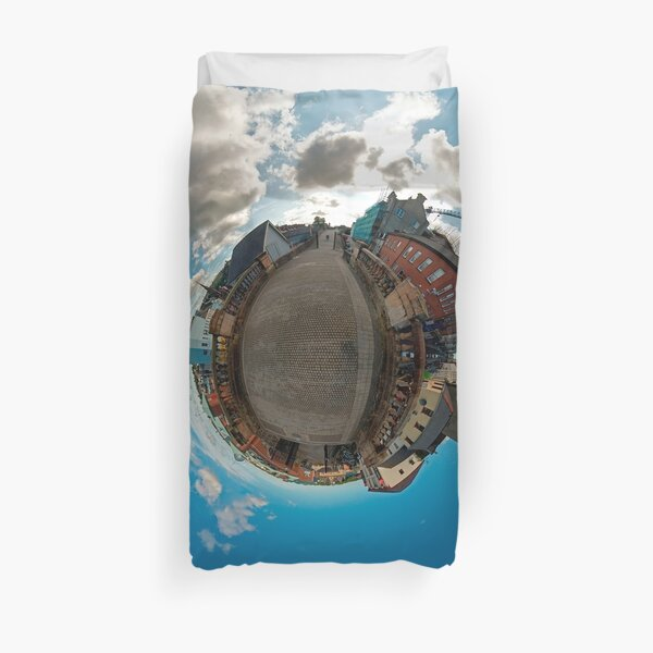 City Walls of Derry at Ferryquay Gate Duvet Cover