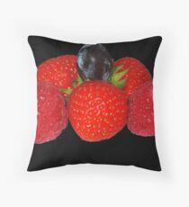 Fruit Salad Throw Pillow