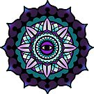 Mandala Blackberry by ReeDraws