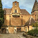 The Back of the Great Hall at Montsalvat, Eltham, Vic by Christine Smith