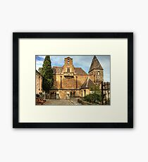 The Back of the Great Hall at Montsalvat, Eltham, Vic Framed Print