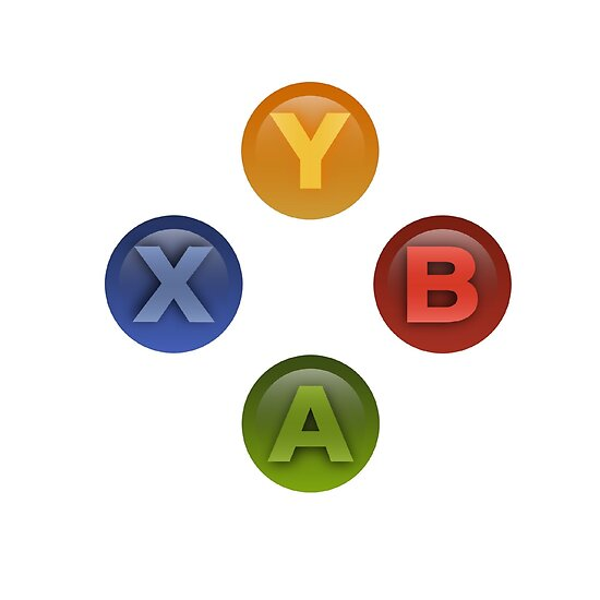 Xbox Buttons White by itsricciardi