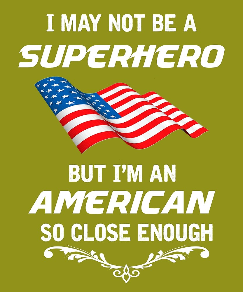 Not Superhero But American  by AlwaysAwesome