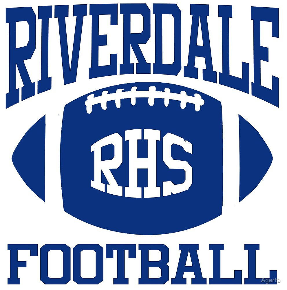 Riverdale Football Navy by Agarta