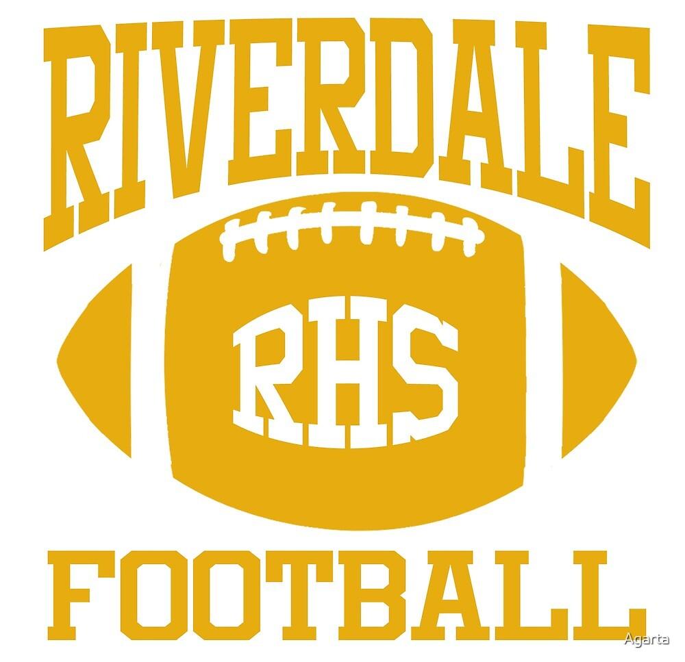 Riverdale Football Gold by Agarta