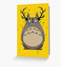 Totoro True Detective Greeting Card
