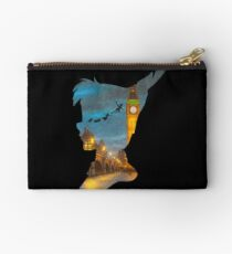 Peter Pan Over London  Studio Pouch