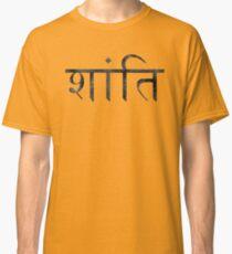 Shanti (Peace) Classic T-Shirt