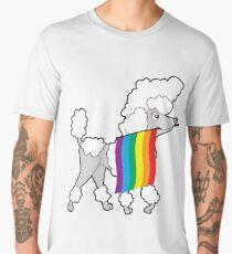 Gay Pride Poodle Shirt Men's Premium T-Shirt