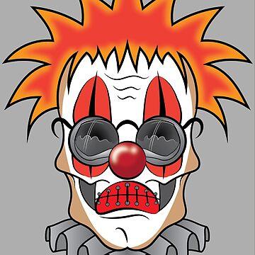 Clown (Skull Dude) by ScottyTattoo
