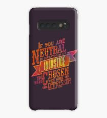"""""""If you are neutral in situations of injustice..."""" 