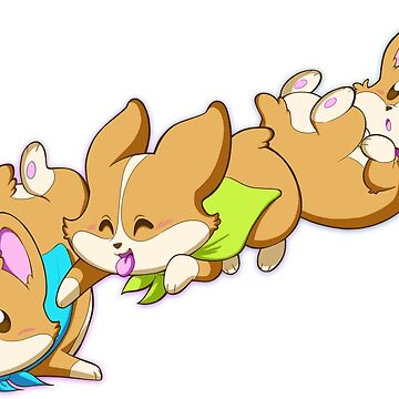 Puppy Heroes: Cute Corgi Squad by kickgirl