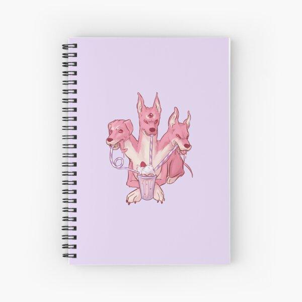 Strawberry Cerberus Spiral Notebook