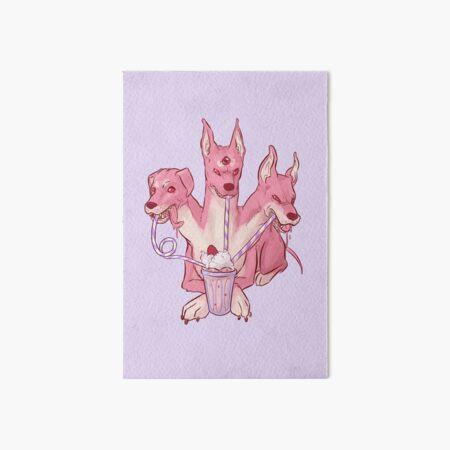 Strawberry Cerberus Art Board Print