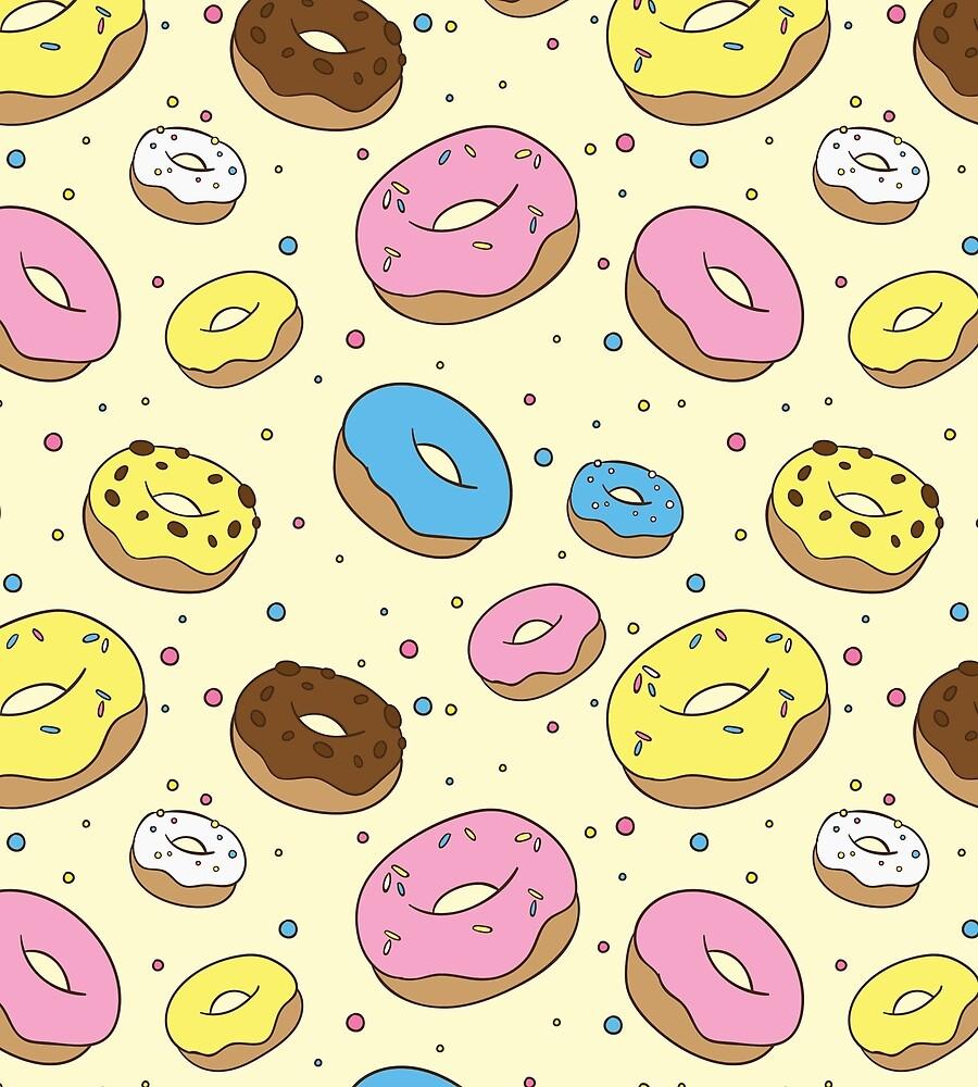 Donut World by heyrelaxbro