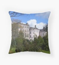picton castle#1 Throw Pillow