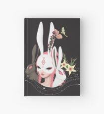 Rabbit hole Hardcover Journal