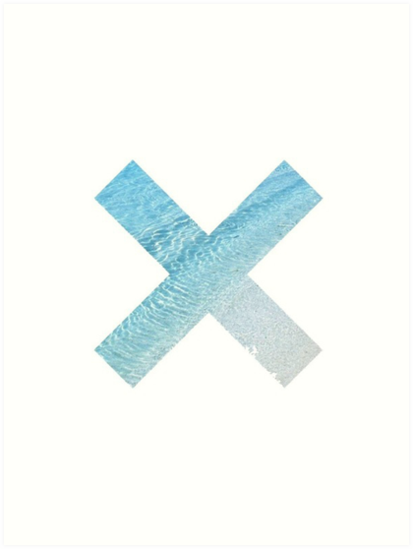 The XX - Ocean Graphic by Toxic-Valentine