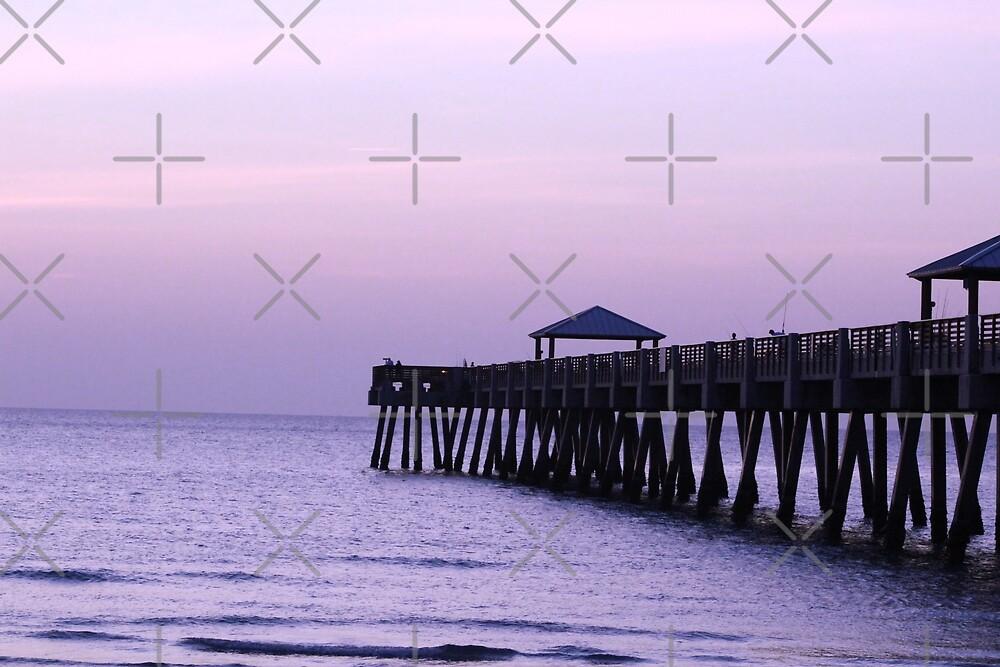 The Boardwalk at Sunrise by EcstasyPanda