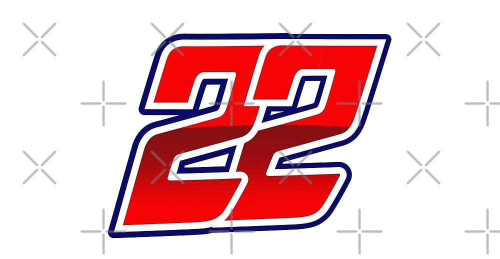 #22 Sam Lowes - MotoGP Rider Number by xEver