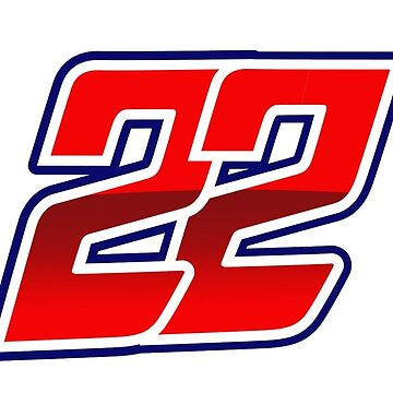 #22 Sam Lowes - MotoGP Rider Number by xEver