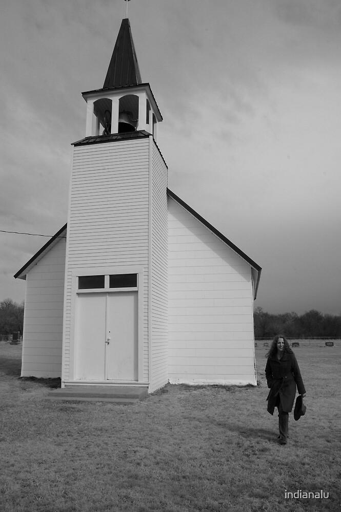 Prairie Church by indianalu