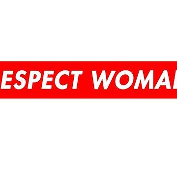 Supreme Respect Woman Box Logo by WalrusClothesCo