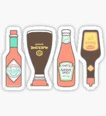 Awesome Sauce Stickers – they're awesomesauce! Sticker