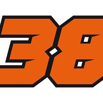 #38 Bradley Smith - MotoGP Rider Number by xEver