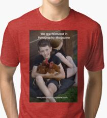 Featured in Petography Magazine Tri-blend T-Shirt
