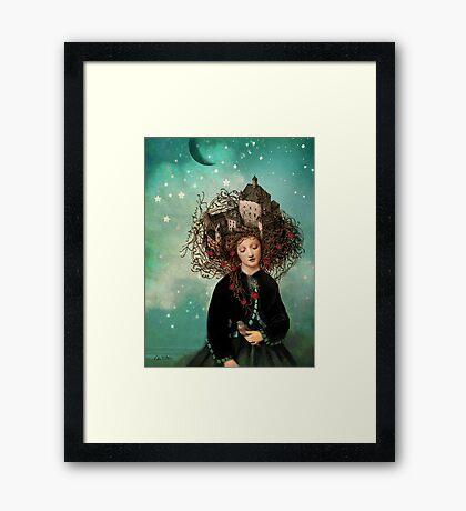 Sleeping beauty's dream Framed Print