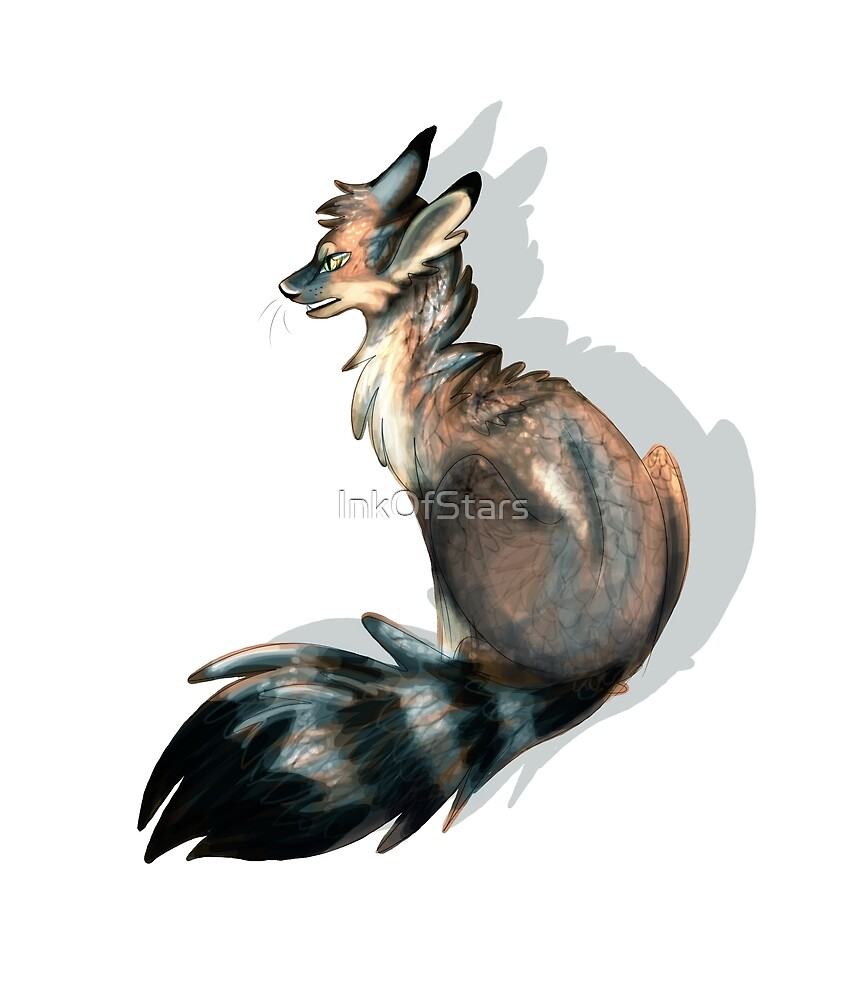 Gray Fox by InkofStars