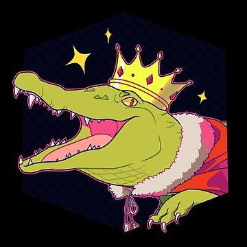 Crocodile King by happycricketbox