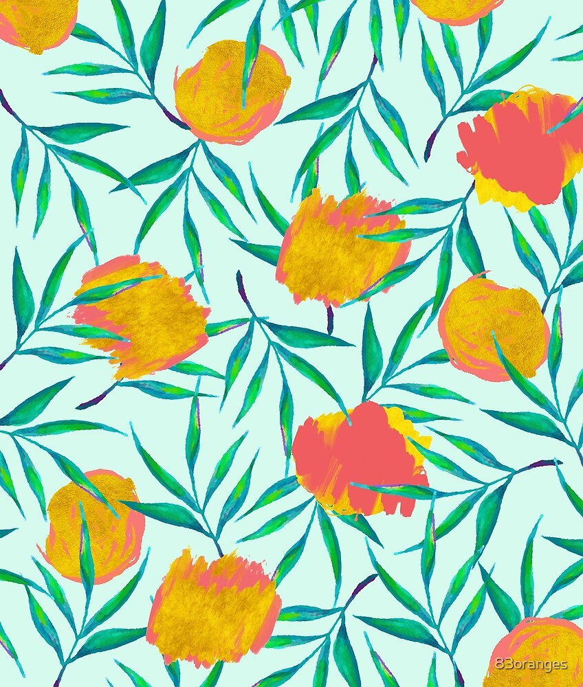 Floraison #redbubble #decor #buyart by 83oranges