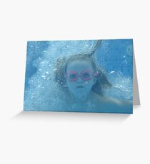 FIZZY WATER Greeting Card