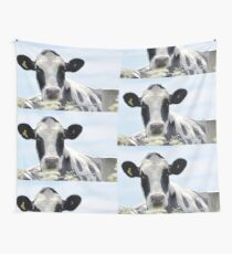 Cow in the meadow....Dorset UK Wall Tapestry
