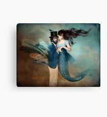 A Mermaids Love Canvas Print