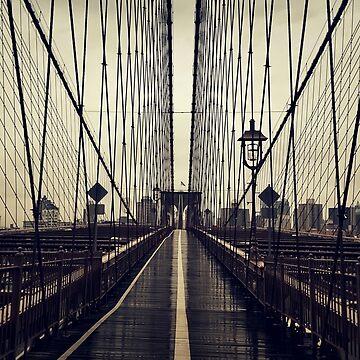 The Brooklyn Bridge by psychoshadow