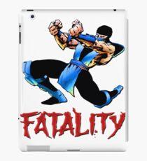 sub zero fatality iPad Case/Skin
